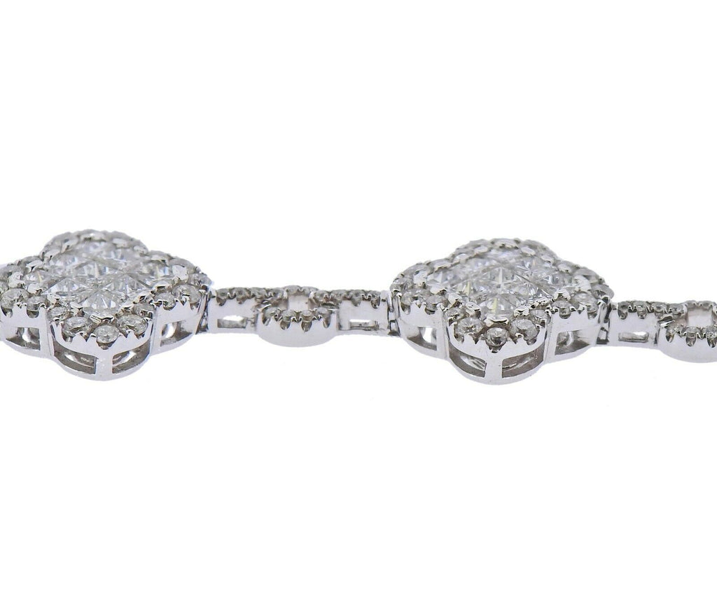 thumbnail image of Gregg Ruth 6.13ctw Diamond Gold Bracelet