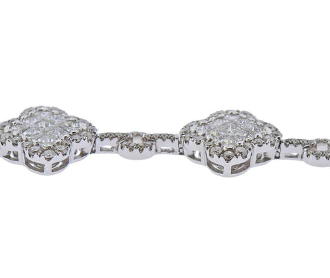 image of Gregg Ruth 6.13ctw Diamond Gold Bracelet