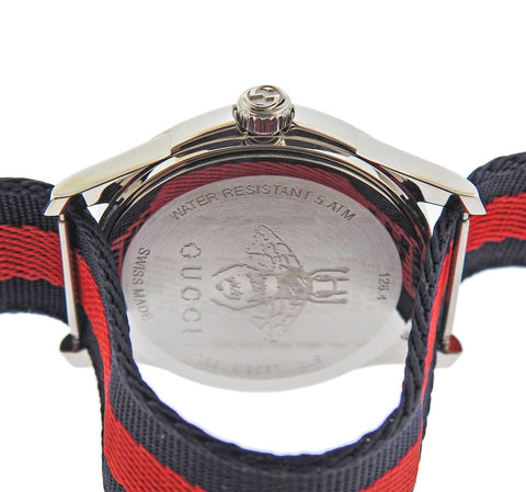 image of Gucci Snake Marveilles 36mm Steel Watch YA126493A