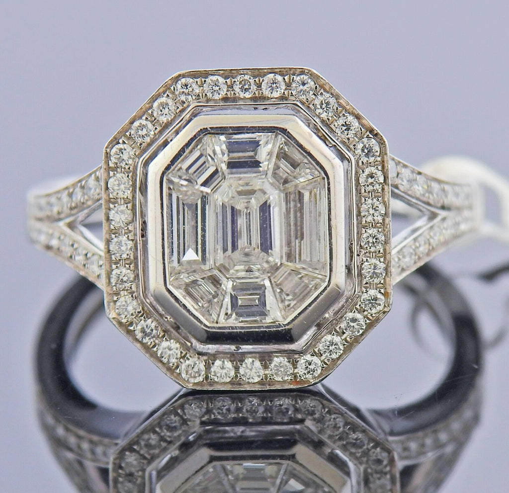 thumbnail image of Gregg Ruth Diamond Gold Engagement Ring
