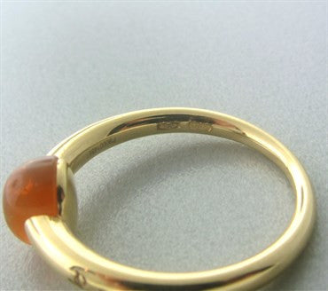 thumbnail image of Pomellato M'ama Non M'ama 18k Gold Fire Opal Ring