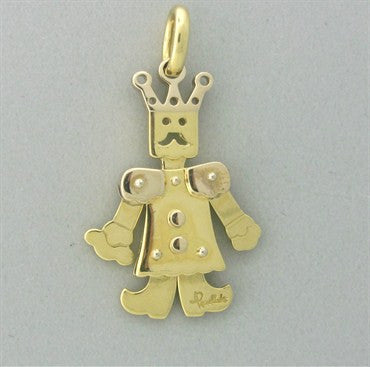 thumbnail image of Pomellato Contemporary 18K Gold King Of Jewels Small Movable Pendant
