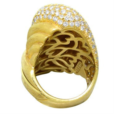 thumbnail image of Henry Dunay 3.00ctw Diamond 18k Gold Ring