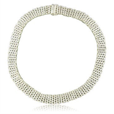 image of Tiffany & Co. Sterling Silver Somerset Necklace
