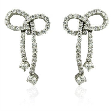 image of New Hearts On Fire Gifted 2.45ctw Diamond Earrings