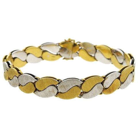 Buccellati Two Color Gold Bracelet