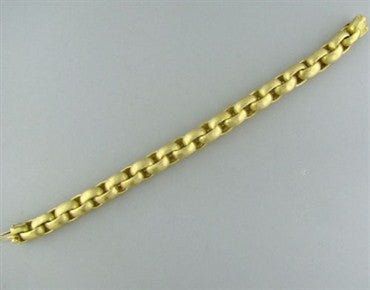 thumbnail image of Tiffany & Co Paloma Picasso Hammered Link 18K Gold Bracelet