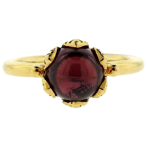 Temple St. Clair Arcadia Rhodolite Gold Ring