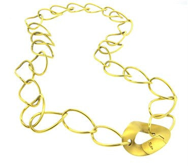 thumbnail image of Pomellato 18k Gold Link Necklace