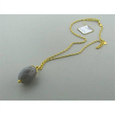 thumbnail image of New Gurhan 24k Gold Agate Necklace