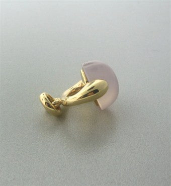 thumbnail image of Pomellato Luna 18K Gold Rose Quartz Pendant