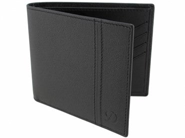 image of ST Dupont Black Leather Defi Wallet 086601