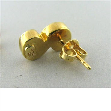 image of Estate Tiffany & Co 18k Gold Swirl Earrings