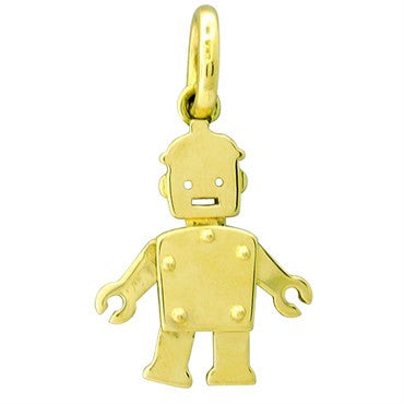 image of Pomellato Orsetto 18k Gold Movable Pendant Charm