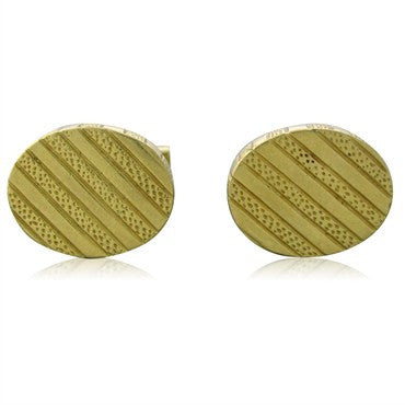 image of Vintage Tiffany & Co 18K Yellow Gold Cufflinks 19.2g