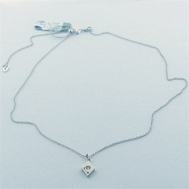 thumbnail image of Hearts On Fire 18k Gold Diamond Necklace