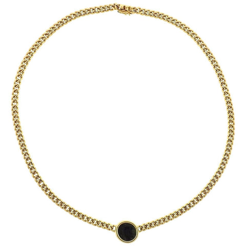 Bulgari Lydia 4th Century BC Ancient Coin Gold Chain Necklace