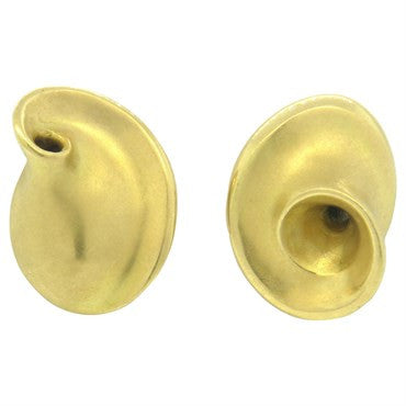 image of Pedro Boregaard 18k Gold Swirl Earrings