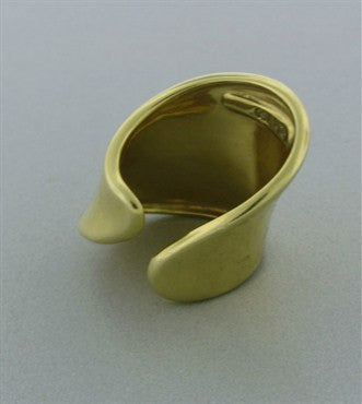 image of Classic Robest Lee Morrsi RLM 18K Gold Free Form Ring