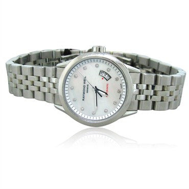 image of Raymond Weil Ladies Freelancer Automatic Diamond Watch 2430 ST 97081