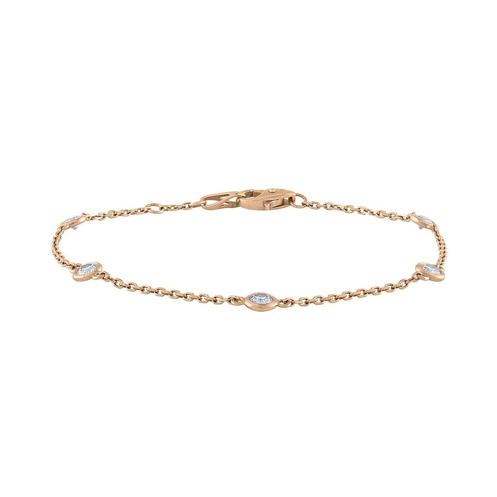thumbnail image of Rose Gold Diamonds by the Yard Bracelet
