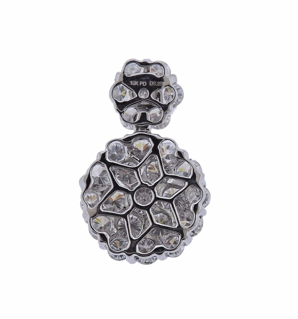 thumbnail image of 18k Gold 3.25ctw Diamond Pendant