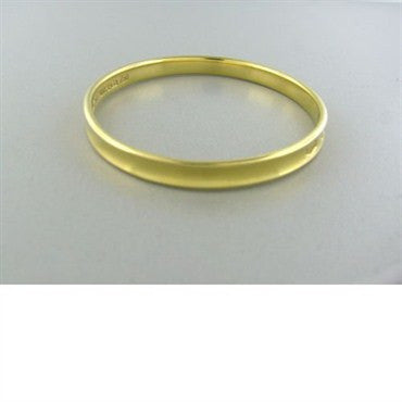 thumbnail image of Tiffany & Co 1837 18k Gold Bangle Bracelet 28g