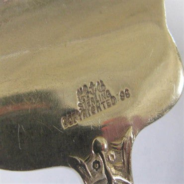 thumbnail image of Gorham Versailles Sterling Cold Meat Serving Fork