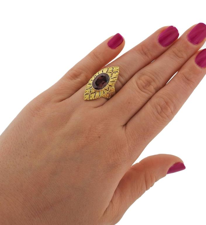 thumbnail image of Buccellati Yellow Gold Zircon Ring