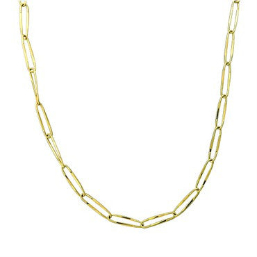 image of New Pomellato Collane 18k Gold Link Chain Necklace