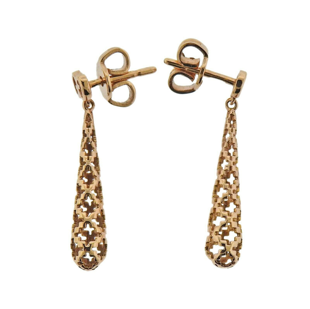 thumbnail image of Gucci Diamantissima Gold Drop Earrings