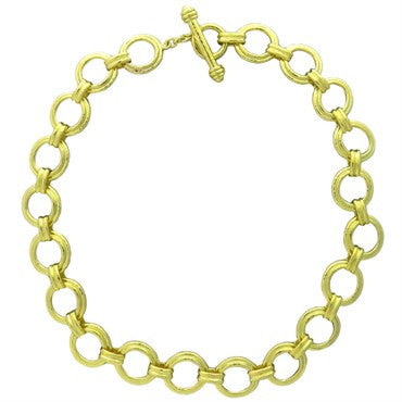 thumbnail image of Elizabeth Locke 19k Gold Bergamo Necklace