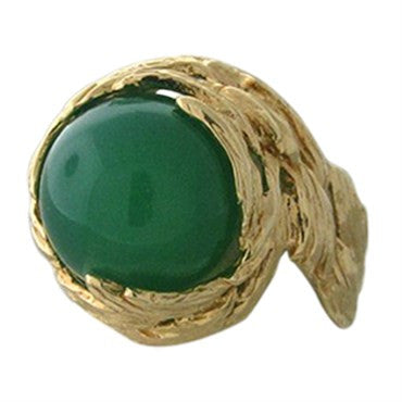 image of Gilbert Albert 18K Gold Interchangeable 4pc Color Gemstone Bead Ring