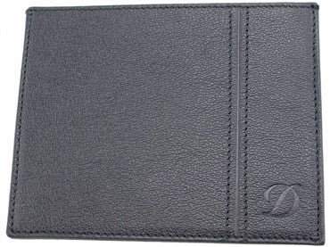 image of ST Dupont Black Leather Defi Wallet 086608