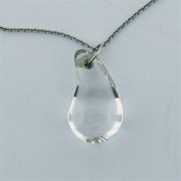 image of Estate Tiffany & Co Peretti Platinum Rock Crystal Necklace