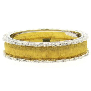 image of Buccellati Gold Wedding Band Ring