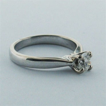 thumbnail image of Hearts On Fire 18k Gold 0.51ct Diamond Engagement Ring
