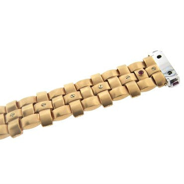 image of Roberto Coin Magnifica Diamond Gold Bracelet
