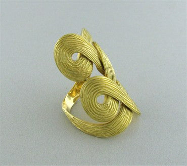 thumbnail image of H. Stern Celtic Dunes 18K Yellow Gold Ring