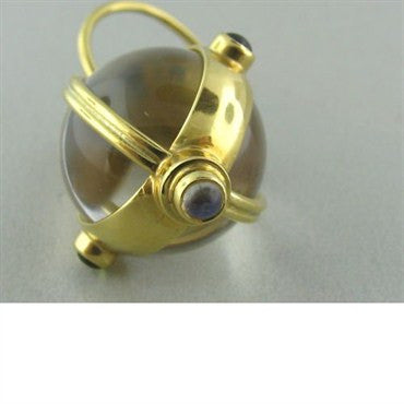 thumbnail image of Temple St. Clair 18k Gold Crystal Gem Amulet Pendant