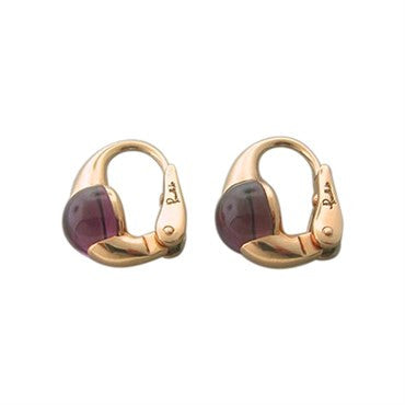 thumbnail image of Pomellato M'ama Non M'ama 18k Gold Rhodolite Earrings