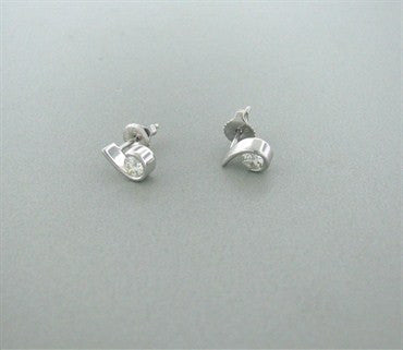 thumbnail image of Hearts On Fire Whisper 0.50ct Diamond Earrings