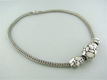 image of John Hardy Sterling Silver Kali Sautoir Large Bead Necklace