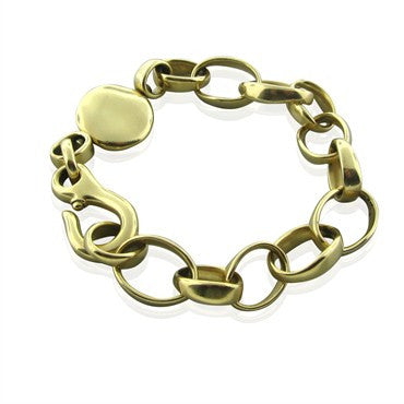 thumbnail image of Pomellato Sabbia 18K Yellow Gold Chain Link Bracelet