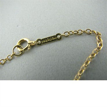 thumbnail image of Tiffany & Co Elsa Peretti 18k Gold Pendant Necklace