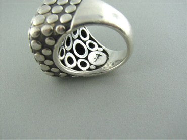 thumbnail image of John Hardy Sterling Silver Dots Cocktail Ring