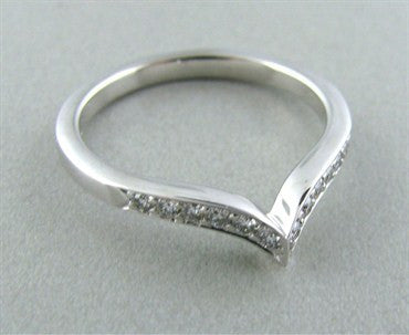 image of Hearts On Fire Felicity Pointed Diamond Band Ring