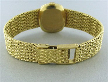 image of Lady's Vintage Rolex Orchid 18K Gold Watch With Gold Bracelet 50g