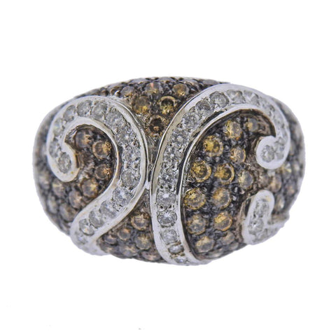 image of 18k Gold 2.85ctw Fancy Diamond Ring