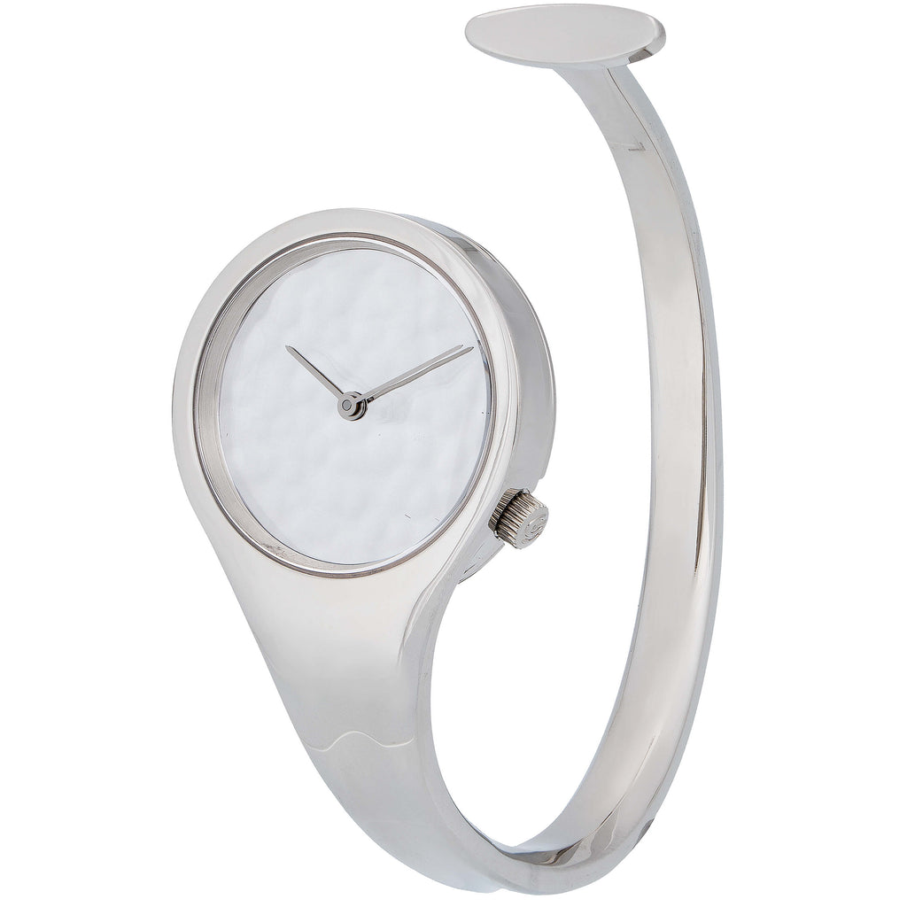 thumbnail image of Georg Jensen Viviana Stainless Steel Watch Cuff